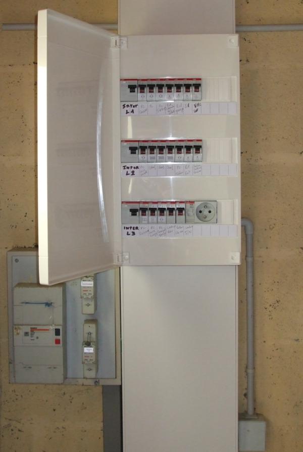 Tableau Electrique Maison Great Cablage Coffret Electrique Maison